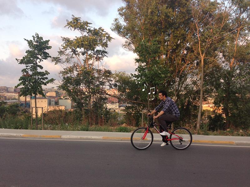 Bisikletle de gezilir