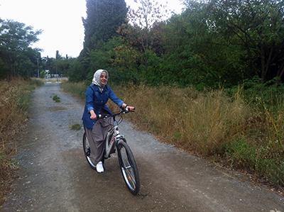 sahika_bisiklet