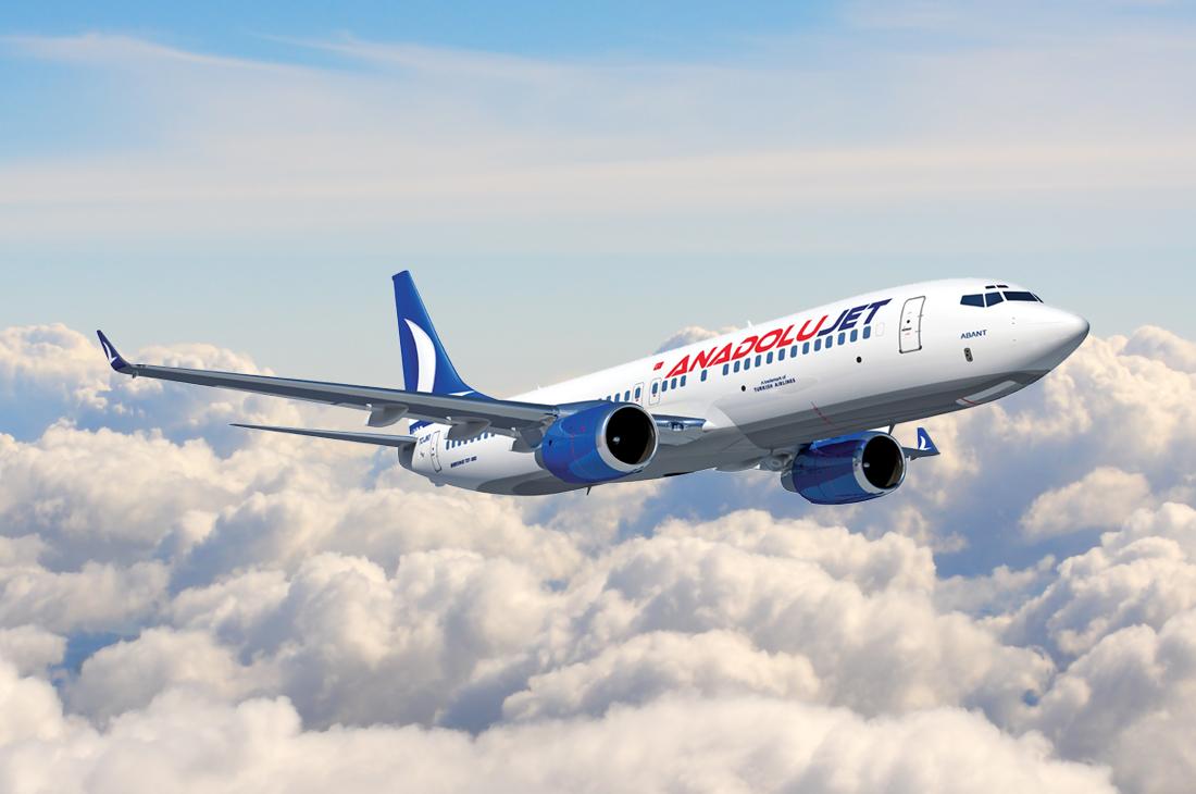 """Uçak Bileti Almanın En Avantajlı Yanı """"Anadolu Jet"""""""