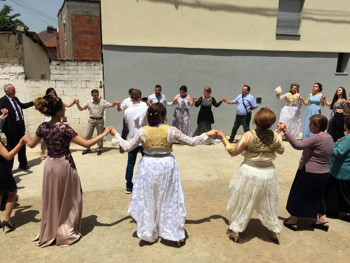 Prizren'de Kosova düğününe gittik