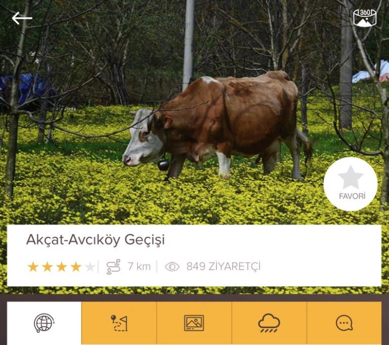 Kocaeli Belediyesi yürüyüş parkurları için harika bir mobil uygulama hazırlatmış